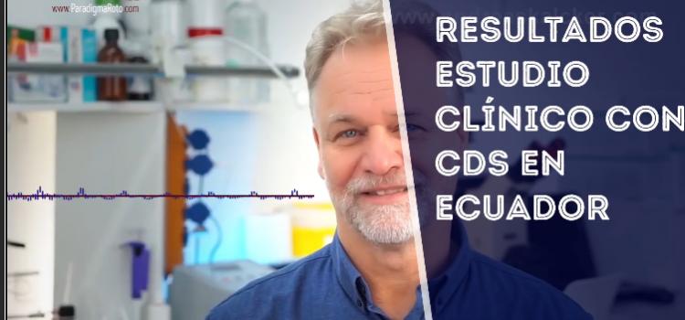 Resultados impresionantes – Estudio Clínico con Dióxido de Cloro (CDS)