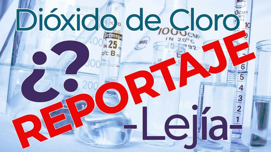 En este video verá un reportaje hecho sobre el Dióxido de Cloro (CDS) y la lejía, ¿Es lo mismo? ¿Qué son en verdad?